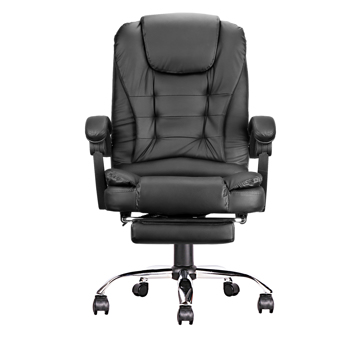 Ergonomic Executive Office Swivel Chair, Gaming Chair, Computer Chair, high Back, Adjustable Height and Angle, Black