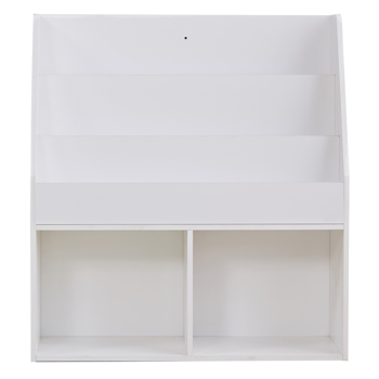Children Kids Bookcase Book Shelf Storage Display Rack Organizer Holder,White
