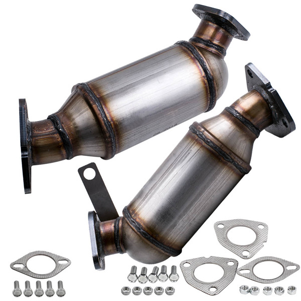 Front Catalytic Converter LH & RH For Chevrolet Traverse 3.6L 6 Cylinder 2009-2017 16547 16548