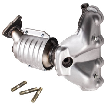 Catalytic Converter with Exhaust Manifold For Honda Civic DX 4Cyl 1.6L 97CID 1996-2000 674439 18160-P2E-A12