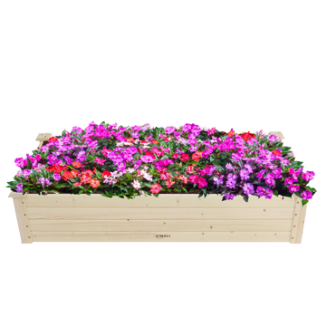 Wooden Planting Frame Ground Type 122*61*25.5cm
