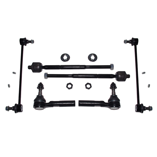 Front Lower Control Arm Tierod Sway Bar for 07 - 17 Dodge Caliber Jeep Patriot