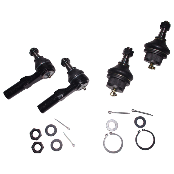 For 2002 - 2005 Dodge Ram 1500 Front Upper Control Arms Ball Joints Tie Rods