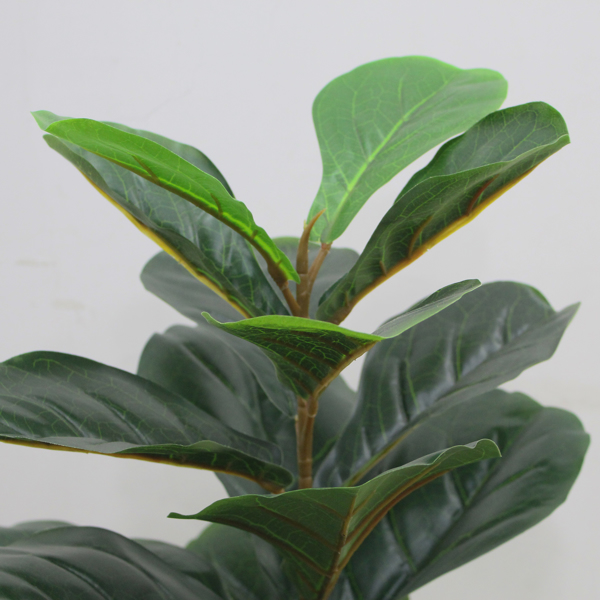 """23"""" Artificial Fiddle Leaf fig Tree Faux ficus lyrata for Home Office Decoration"""