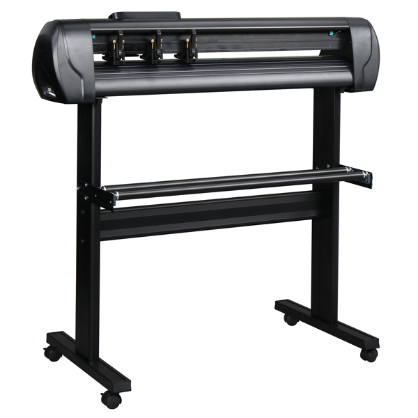"""28"""" Professional Vinyl Cutting Plotter with Stand Comes with Easy-to-use Design and SIGNMASTER Software"""