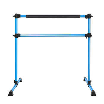 Double-Decked Liftable Home Dance Studio Ballet Pole Yoga Stretching Fitness Dance Pole Blue