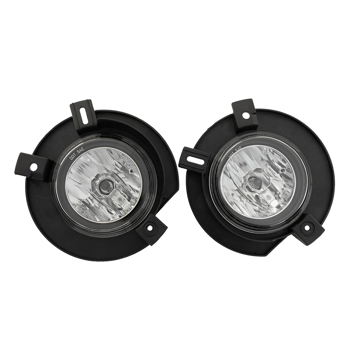 for 2002-2005 Ford Explorer Replacement Clear Fog Lights Front Bumper Lamps PAIR