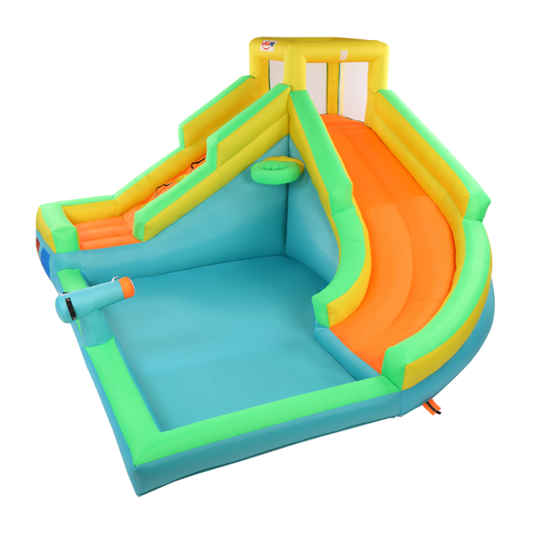 Inflatable Castle with Pool and Slide ,include Air Blower
