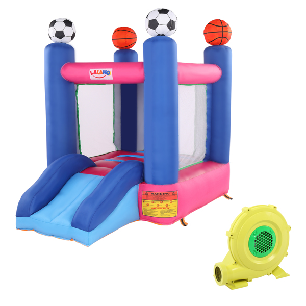 Inflatable Jumping Castle with Slide ,include Air Blower
