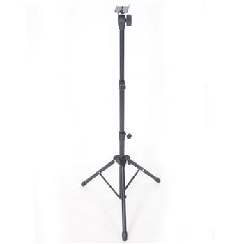 Adjustable Height Folding Music Stand Black