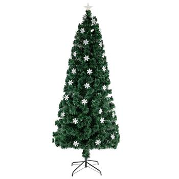 6FT Small Light Fiber Optic Christmas Tree 230 Branches