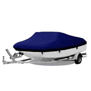 20-22ft 600D Oxford Fabric High Quality Waterproof Boat Cover with Storage Bag Blue