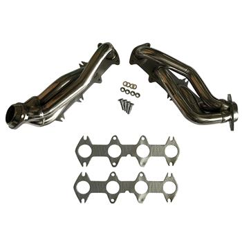 For Ford F150 04-10 5.4L V8 Performance Stainless Exhaust Manifold Shorty Header