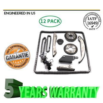 Timing Chain Kit Fit 02-06 Dodge Charger Stratus Chrysler 300 Concorde 2.7 DOHC
