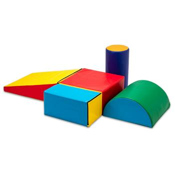 Children's brain development puzzle is suitable for children from 9 months to 3 years old to climb slopes, slide, and crawl with brightly colored foam
