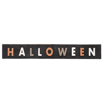 Artisasset Halloween Wood Hanging Sign Holiday Wall Sign