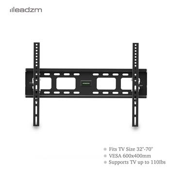 "LEADZM TMW600 32-70"" Flat Tilting TV Wall Mount  with Spirit Level"