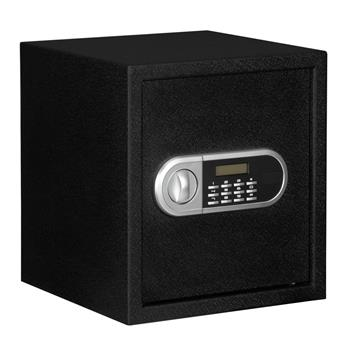 Home Use Electronic Password Steel Plate Safe Box 13*13*14.2""