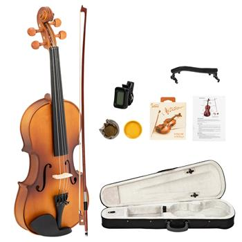 [Do Not Sell on Amazon]Glarry GV301 Violin 4/4 Spruce Panels Matte