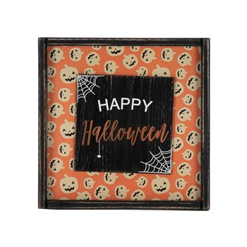 Artisasset HAPPY HALLOWEEN Halloween Hanging Sign Holiday Wall Sign