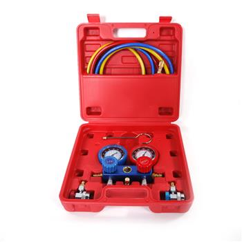 1 Set of R134 R12 R22 Dual-table Valve Group Red & Green & Blue