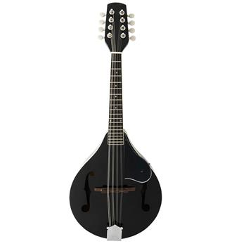 A Style Elegant Mandolin with Guard Board Black