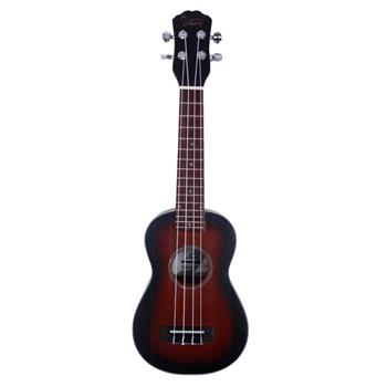 "Glarry UK201 21"" Sapele Wood Ukulele Sunset Color"