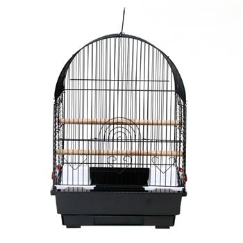 "19"" Small Bird Cage Pet Supplies Metal Cage for Parrots Lovebird Budgerigar"
