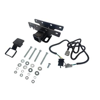 "Trailer Hitch Receiver 2"" & Wire KIT for Jeep Wrangler JK JKU 2007-2018 Outland"