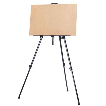 New Artist Aluminium Alloy Folding Easel Light Weight And Carry Bag Black