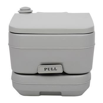 10L Portable Removable Flush Toilet with Single Outlet