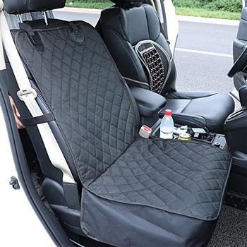 100% Waterproof Dog Car Seat Covers, Upgraded Front Car Seat Cover for Dogs