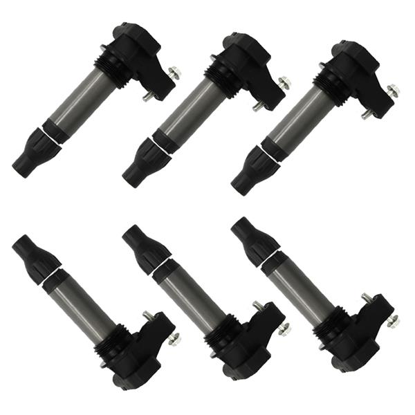 Set of 6 Brand New Ignition Coils for Buick LaCrosse Cadillac ATS Chevy UF569