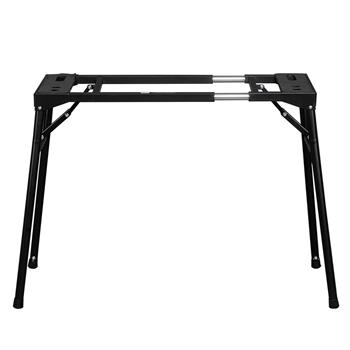 Glarry Foldable Retractable Portable Electronic Keyboard Stand