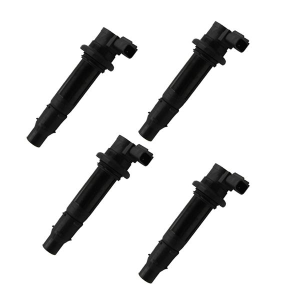 New Set of 4 Ignition Coils Fits For Yamaha MT-07 R6 RJ15 Bj YZF R1FZ8 F6T558