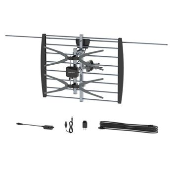 Leadzm TA-W2 2 Grids 10 m Wire Outdoor Antenna With Black Stand