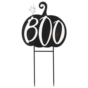 Artisasset Boo Halloween Hanging Sign Holiday Wall Sign