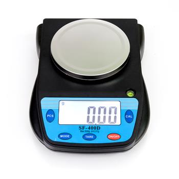 SF-400D 500g/0.01g Portable Electronic Laboratory Scale Black