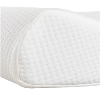 """19.7x11.8x3/4"""" Memory Cotton High And Low Profile Pillow"""