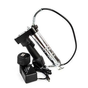 TH-1103 12V Electric Cordless Rechargeable Grease Gun Black