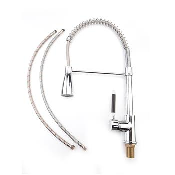 All Copper Kitchen Spring Single Outlet Faucet