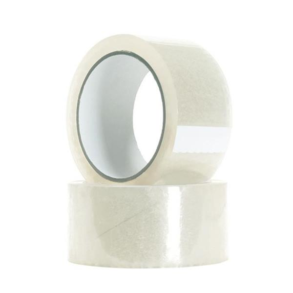 18 Rolls of 2-inch x 55 Yards Clear Tape - Packing Tape 2-Mil  Thickness