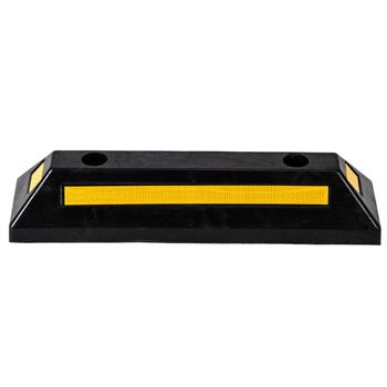 Oshion Heavy Duty Rubber Parking Curb Guide Car Garage Wheel Stop Stoppers