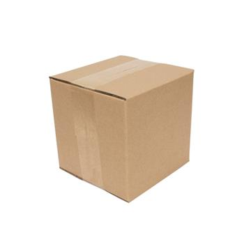 "100 Corrugated Paper Boxes 7x7x7""(17.8*17.8*17.8cm)Yellow"