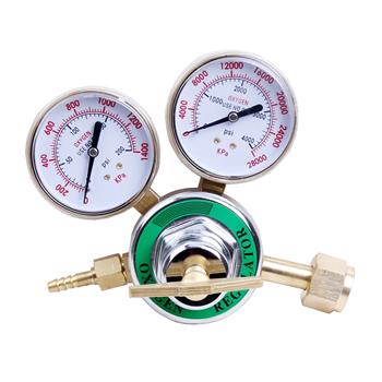 CGA540 Oxygen Regulator for Cutting & Welding Kit Golden & White & Green