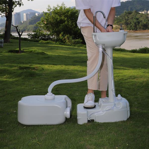 CHH-7701 562 Portable Removable Outdoor Hand Sink with 24L Recovery Tank