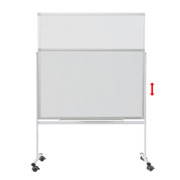 T2613 60 * 90cm Mobile Double-Sided Whiteboard