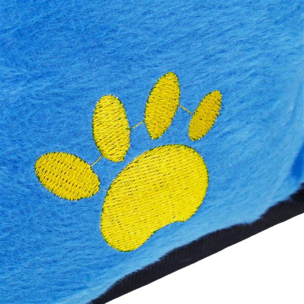 Cotton Pet Warm Waterloo with Pad Ruby Blue M Size