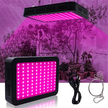 600W 60*10W Full Spectrum 3030 Lamp Bead Plant Lamp Single Control Black