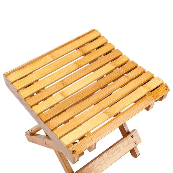Children Multi-function Collapsible Bamboo Stool